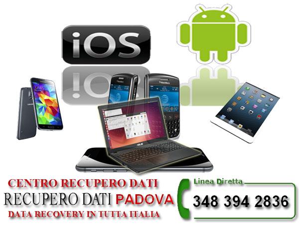 Recupero Dati ios Apple android Padova