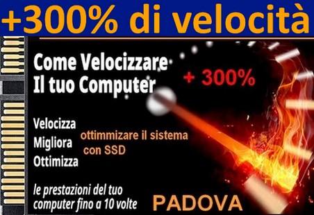 Pc lento? Installa un SSD e metti il turbo! Fai volare il tuo PC da Andrea Padova cell 348.3942836