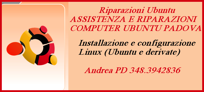 ASSISTENZA E RIPARAZIONI COMPUTER UBUNTU PADOVA