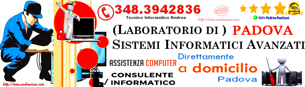 tecnico-infromatico-andrea-rizzo a Padova
